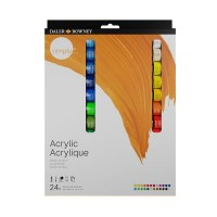Simply Acrylic Paint Set 24 x 12ml