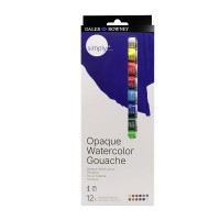 Simply Gouache Paint Set 12 x 12ml