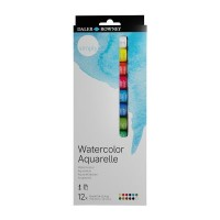 Simply Watercolour Paint Set 12 x 12ml