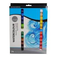 Simply Watercolour Paint Set 24 x 12ml