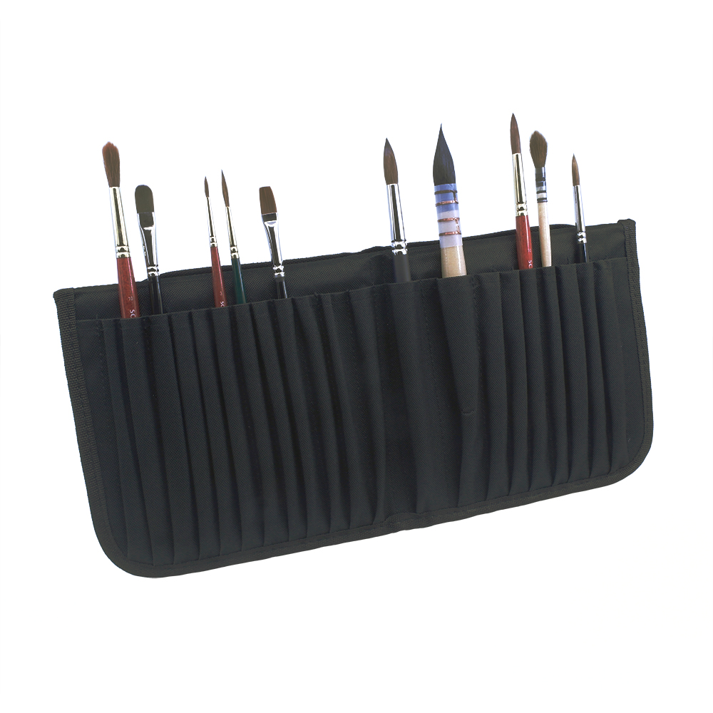 Mapac Brush Storage Wallet Black