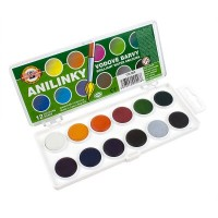 Koh-I-Noor Brilliant Watercolours 12 pan set