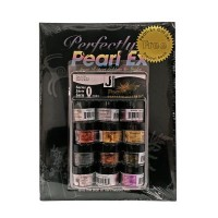 Jacquard Pearl Ex Powdered Pigments Gift Set plus Book