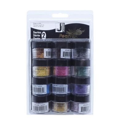 Jacquard Pearl Ex Powdered Pigments Series 2 Set