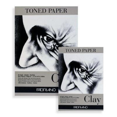 Fabriano Clay Toned Paper Pads