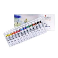 White Nights Watercolour Paint 12 10ml Tube Set