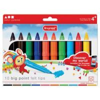 Bruynzeel Big Point Felt Tips Set of 10