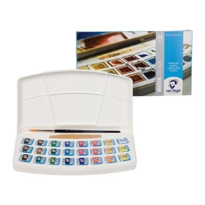 Van Gogh Watercolour 24 Half Pan Paint Set