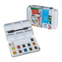 Van Gogh Watercolour Paint 12 Half Pan Pocket Box