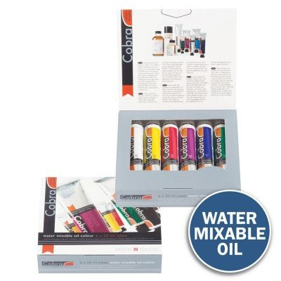 Cobra Artist Water Mixable Oil Colour Trial Set
