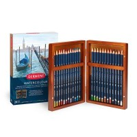 Derwent Watercolour Pencil 24 Wooden Box