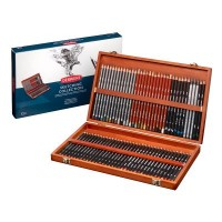 Derwent Sketching 72 Wooden Box Set