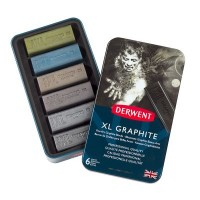 Derwent XL Graphite 6 Tin