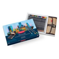 Derwent Procolour 24 Pencil Wrap Set