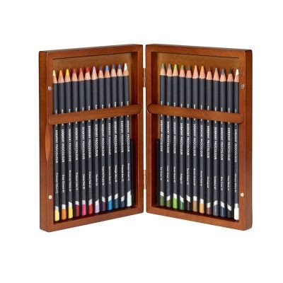 Derwent Procolour 24 Wooden Box Set