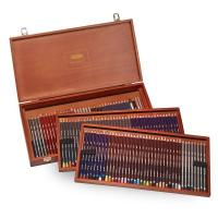 Derwent Limited Edition 120 Collection Wooden Box