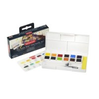 Derwent Inktense Paint Pan Travel Set No 1