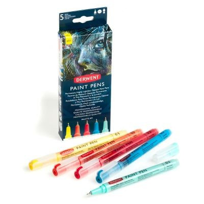 Derwent Paint Pen Palette Sets