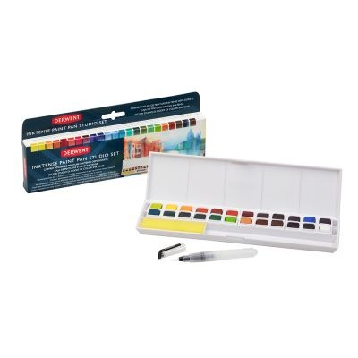 Derwent Inktense Paint 24 Pan Travel Set