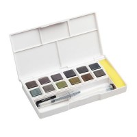 Derwent Graphitint Travel Paint Pan Set