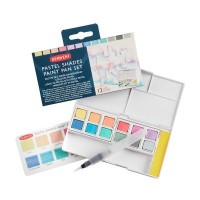 Derwent Pastel Shades 12 Paint Pan Set