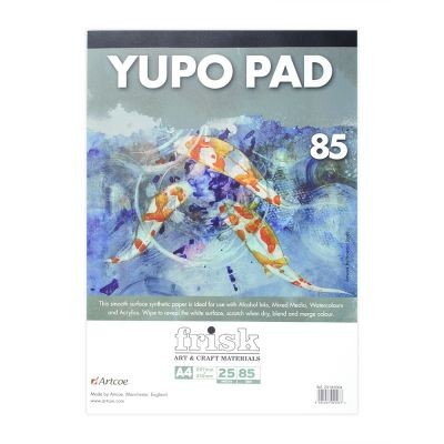 Frisk White Yupo Paper Pad 85gsm 25 Sheets