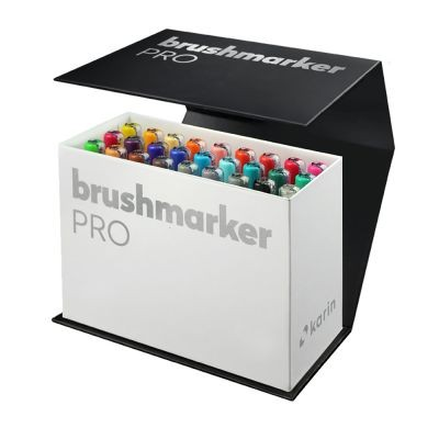 Karin Brushmarker PRO Mini Box 26 plus 1 Blender