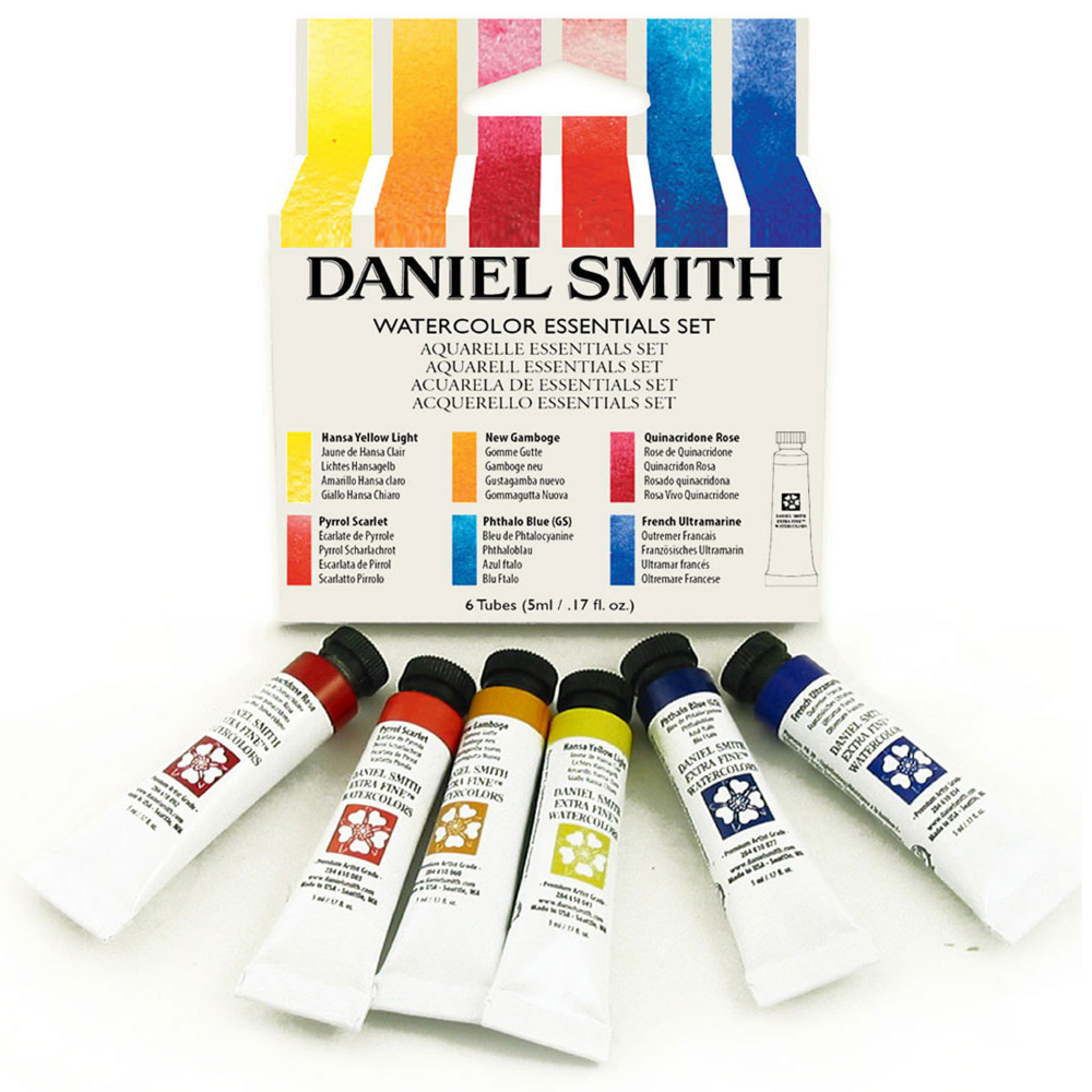 Daniel Smith Watercolour Essentials Set Ken Bromley Art