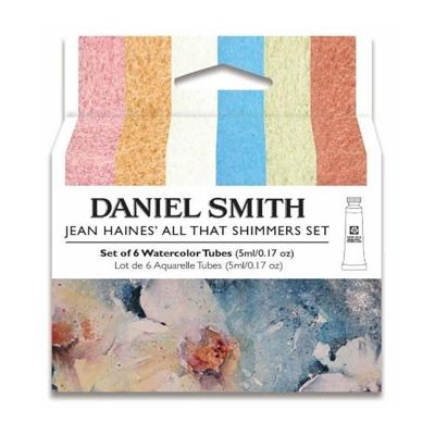 Daniel Smith Watercolour Jean Haines All That Shimmers Paint