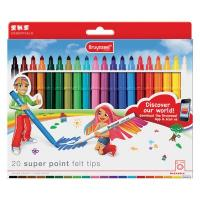 Bruynzeel Super Point Felt Tips Set of 20