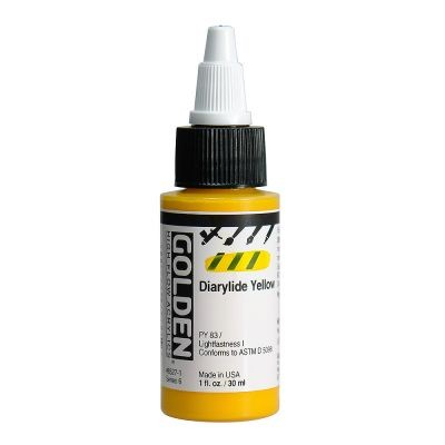 Golden High Flow Acrylic Paint 30ml Bottles