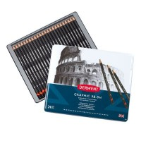 Derwent Graphic Pencils Tin 24