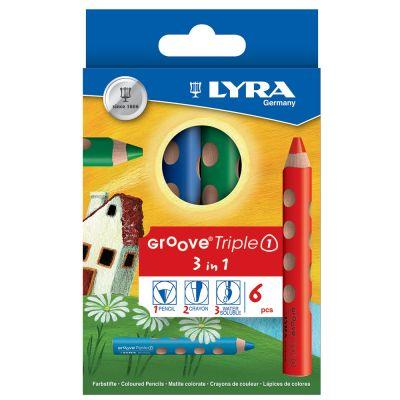 Lyra Groove TripleOne Coloured Pencil Sets