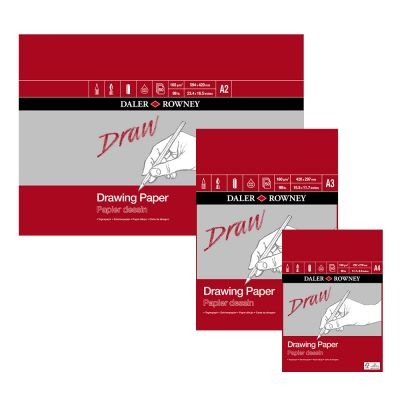 Daler Rowney Medium Grain Drawing Pads