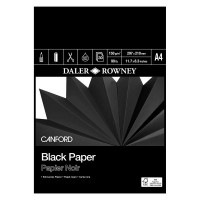Canford Black Paper Pad
