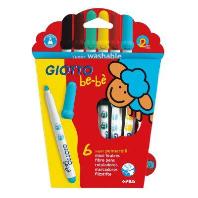 Giotto Be-be Super Fibre Pen Sets