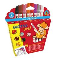 Giotto Be-be Colour Change Felt Tips Box of 8