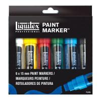 Liquitex Paint Markers Wide Pack of 6