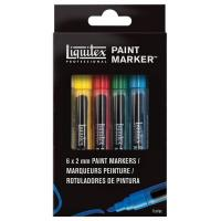Liquitex Paint Markers Fine Pack of 6