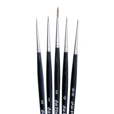 Da Vinci 5257 Set of 5 Mini Sable Brushes