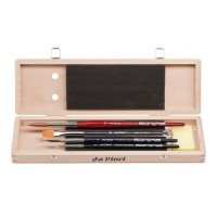da Vinci Watercolour Brush Set in Wooden Box Series 5260