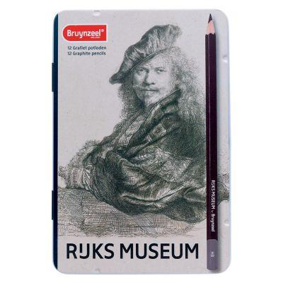 Bruynzeel Rijksmuseum 12 Graphite Pencils Set