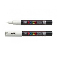 Uni-ball Posca PC-1M Extra Fine Bullet Pen White