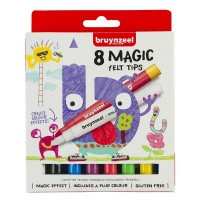 Bruynzeel Magic Felt Tips Set of 8