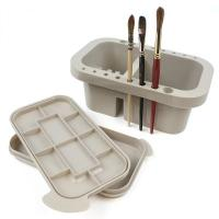 Jakar Brush Tub with Palette Lid