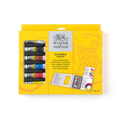 Winsor & Newton Galeria Tips & Techniques Set