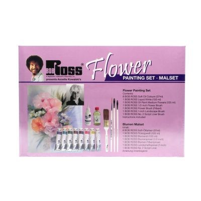 Bob Ross Flower Painting Set