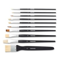 Reeves Set of 10 Mixed Media Brushes