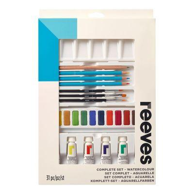Reeves Watercolour Complete Set