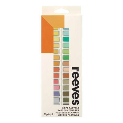 Reeves Soft Pastels Half Size Set of 32